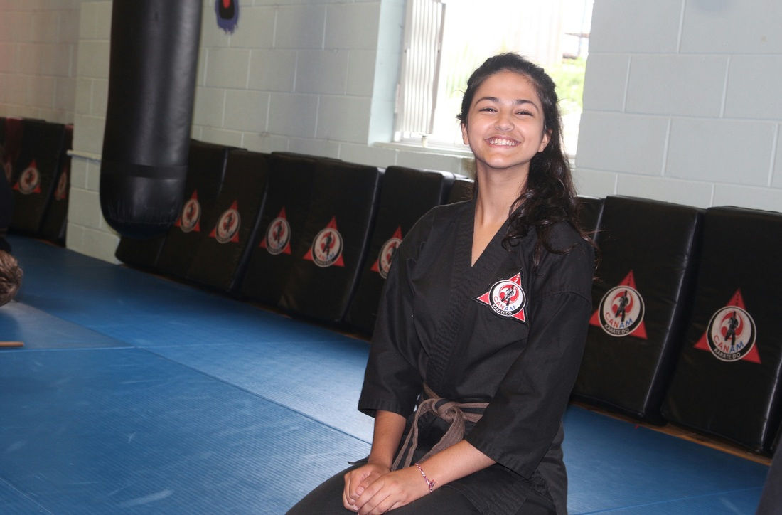 Newmarket ON, Aurora ON, girls martial arts CanAm Karate
